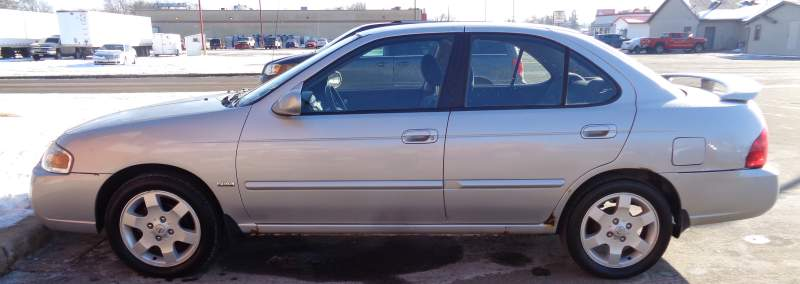silver Nissan Sentra vehicle for sale by Sealed Bid