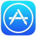 The App Store logo. Click to download our mobile app from the App Store.
