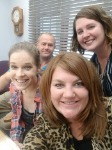 Mortgage Molli (Molli Hundt) pictured with 1st Time Homebuyer Shelley, her realtor, and Mortgage Lender Liza Schlintz